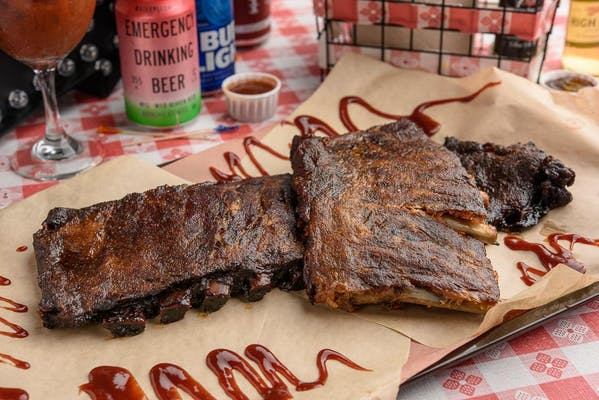 Memphis Style Baby Back Ribs