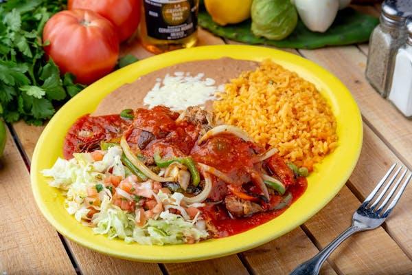 71. Enchiladas Rancheras
