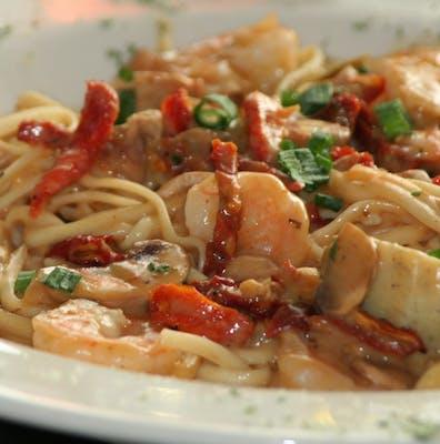 Sergio's Gulf Shrimp Pasta