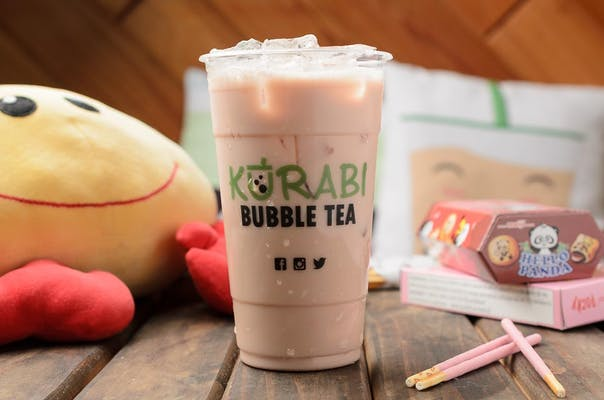 Kurabi Strawberry Milk Tea