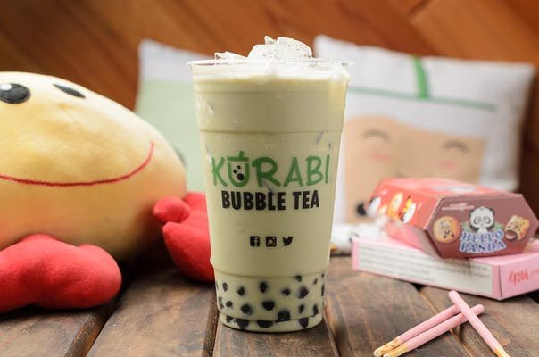 Matcha Green Milk Tea