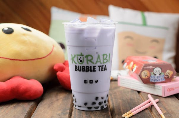Taro Almond Milk Tea