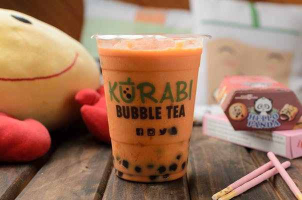 Papaya Milk Tea Smoothie