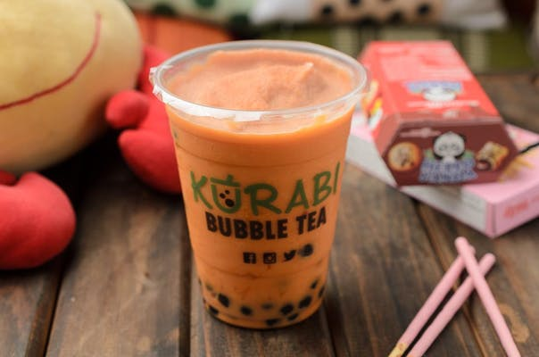 Thai Tea Coconut Milk Tea Smoothie