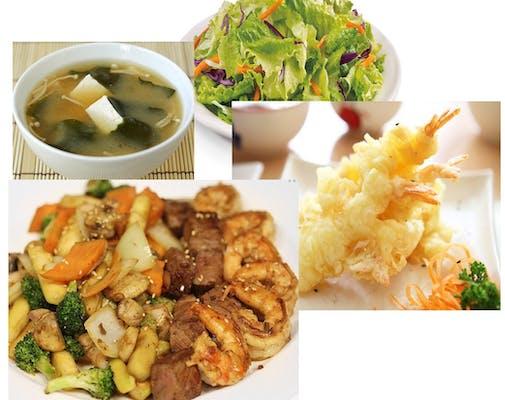 Hibachi Steak Or Chicken