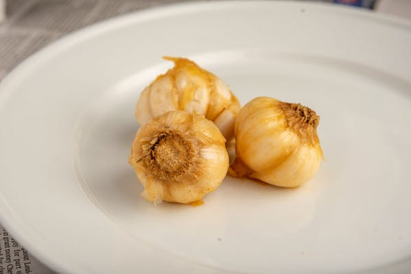 Boiled Garlic