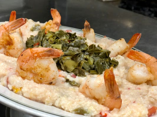Shrimp & Graffiti Grits