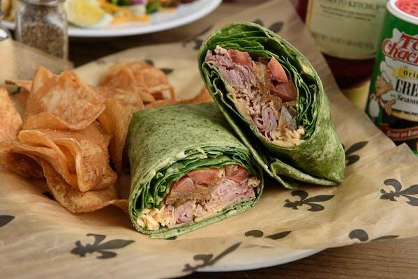 Ham & Gouda Wrap