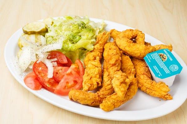 17. Fried Chicken Salad