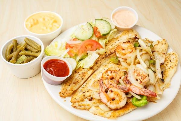 Fish (2 pc.) & Shrimp (2 pc.)