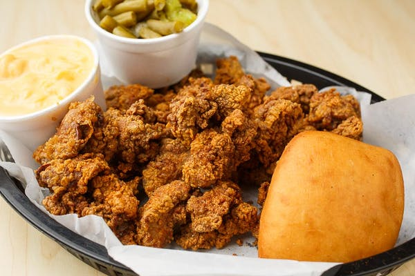 50. Fried Gizzards Meal