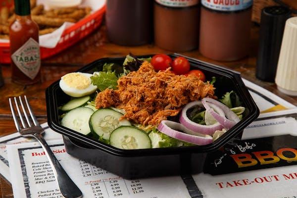 Pulled Pork BBQ Salad
