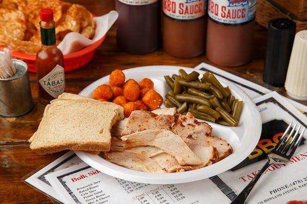 Sliced Turkey Plate
