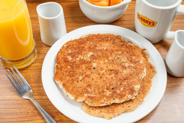 Hearty Nine-Grain Pancake Breakfast