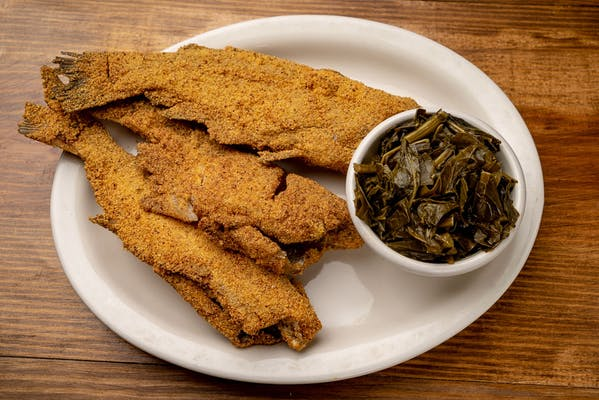 Whole Fried Catfish Dinner
