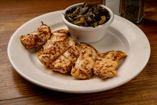 Grilled Chicken Strips Lighter Meal