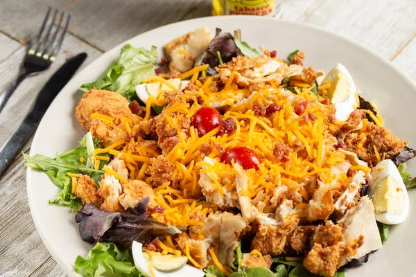 Chicken Fried Chicken Salad