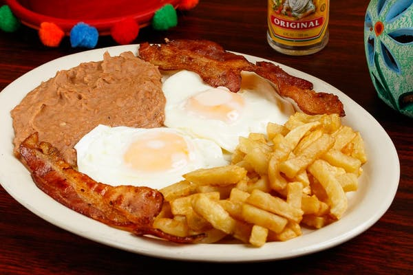 Breakfast Egg Plate
