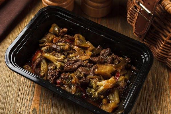 Pepper Steak & Brococoli