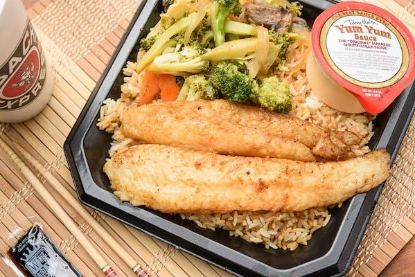 Hibachi Swai Fish