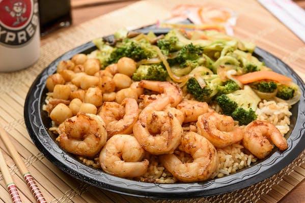 Hibachi Seafood Combo