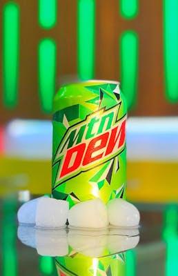 """MTN DEW original flavor """"can"""" 12fl oz"""