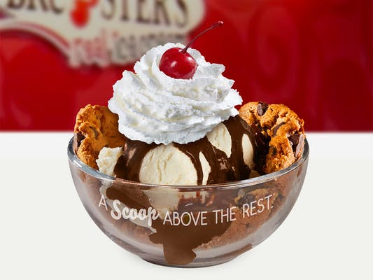 Chocolate Chip Cookie Sundae