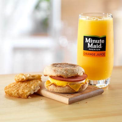 All-Day Breakfast Extra Value Meal
