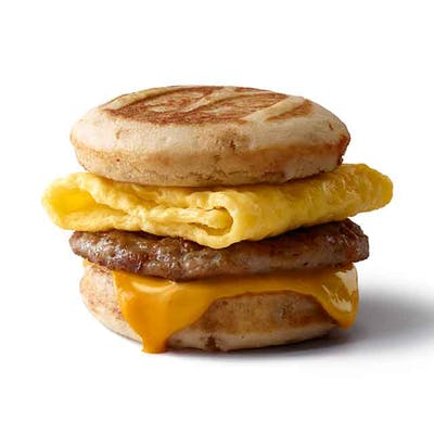 Sausage, Egg & Cheese McGriddle