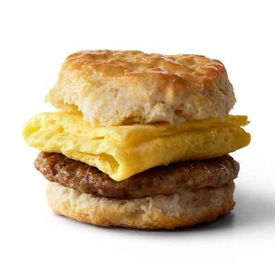 Sausage & Egg Biscuit