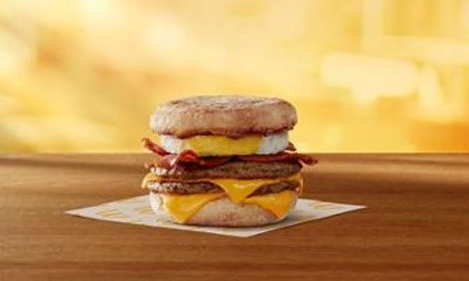 Triple Breakfast Stack Egg McMuffin