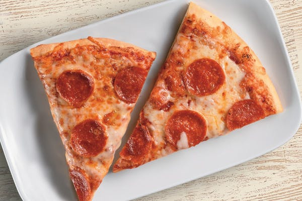 Pepperoni Pizza, Double Slice