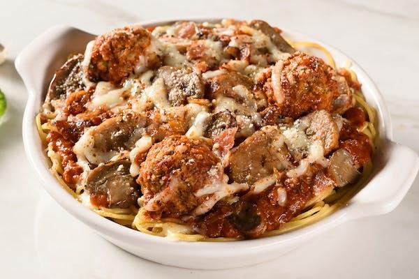 Loaded Baked Spaghetti