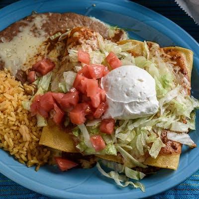 28. Enchiladas Supreme