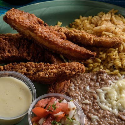 37. Mexican Chicken Fingers