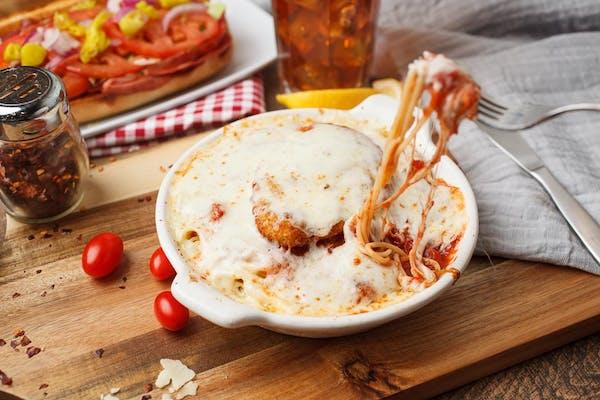 Baked Chicken Parmigiano