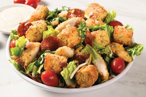 Crispy Chicken Bacon Ranch Salad