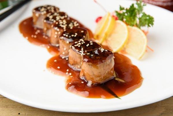 7. Beef Negimaki Appetizer