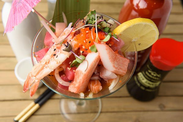 7. Spicy Seafood Salad