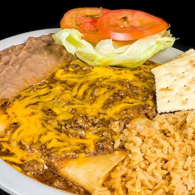 Cheese Enchiladas Plate