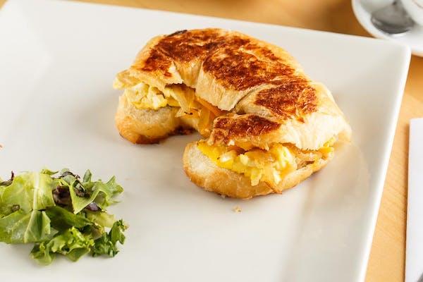 Breakfast Croissant Panini