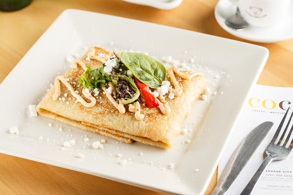 Goat Cheese Crepe