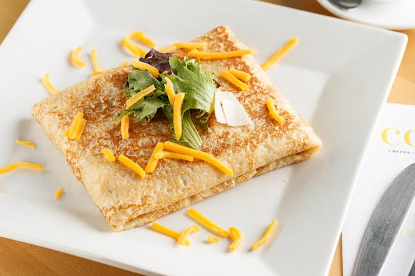 Turkey & Cheese Crepe