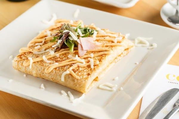 Ham & Mozzarella Crepe