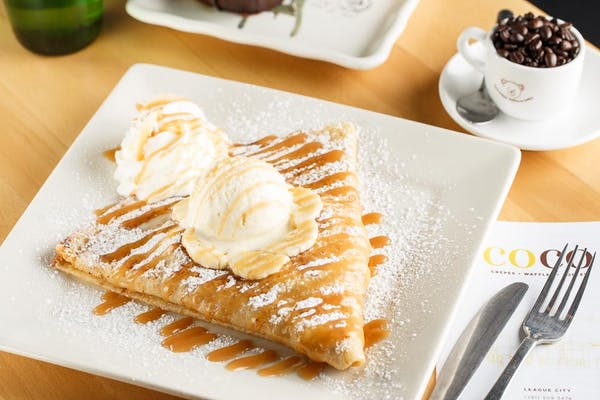 Bananas Foster Crepe