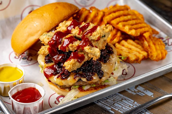 Sweet & Spicy Burger