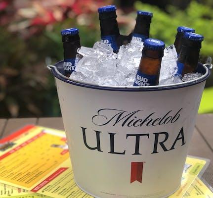 Domestic Bucket of Beer