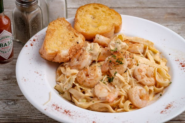 Shrimp & Artichoke Pasta