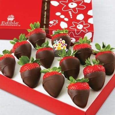 Chocolate-Dipped Strawberries Box