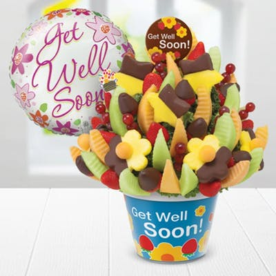 Get Well Delicious Celebration Gift Bouquet